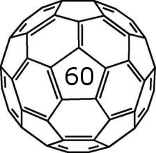 Buckminsterfullerene C60 buckyball