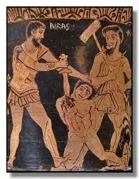 Pharmakos means ritual human sacrifice!