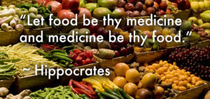 Hippocrates would advocate using raw foods to heal cancer naturally!
