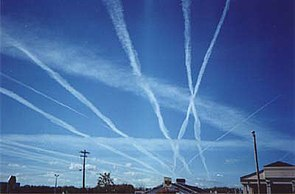 Chemtrails fill our skies globally and cause chemtrail flu