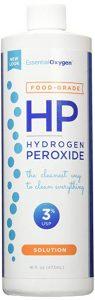 Food grade hydrogen peroxide.
